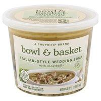 Bowl & Basket Italian-Style Wedding Soup with Meatballs, 20 Ounce