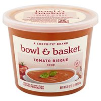 A ShopRite brand. Slow-Simmered Tomatoes & Sauteed Garlic in a Vegetable Stock & a Touch of Light Cream with Carrots, Onions & Chopped Basil