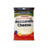 PriceRite Shredded Low-Moisture Part-Skim Mozzarella Cheese, 16 Ounce