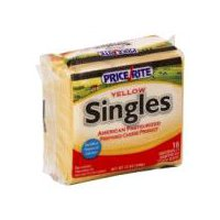 PriceRite Singles Yellow American Pasteurized Cheese Product, 16 Each