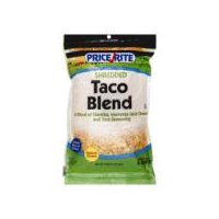 PriceRite Shredded Taco Blend Cheese, 16 Ounce
