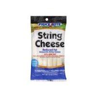 PriceRite Reduced Fat Mozzarella String Cheese, 12 Each