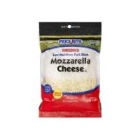PriceRite Shredded Low-Moisture Part-Skim Mozzarella Cheese, 8 Ounce