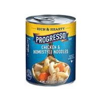Progresso Rich & Hearty Chicken & Homestyle Noodles Soup, 19 Ounce