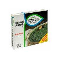Seabrook Farms Spinach - Creamed, 9 Ounce