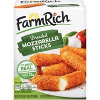 Farm Rich Breaded Mozzarella Sticks, 24 Ounce