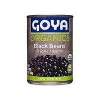 Goya Organic Black Beans, 15.5 Ounce