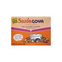 Goya Sazon Coriander & Annatto Seasoning, 6.33 Ounce