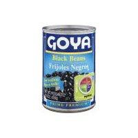 Goya Black Beans, Low Sodium, 15.5 Ounce