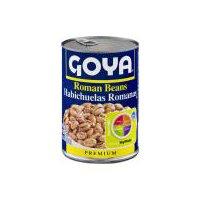 Goya Roman Beans, 15.5 Ounce