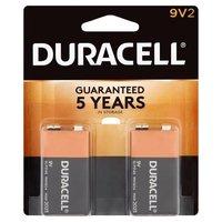 Duracell Batteries 9v 2 Pack, 2 Each