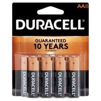 Duracell Batteries AA 8 Pack, 8 Each