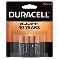 Duracell Batteries AAA 8 Pack, 8 Each