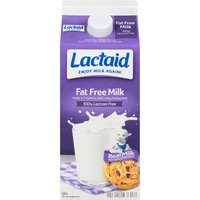 LACTAID LACTAID Milk - Fat Free, 64 Fluid ounce