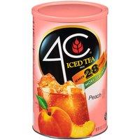 4C 4C Iced Tea Mix - Natural Peach, 66.1 Ounce