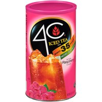 4C Iced Tea Mix - Natural Raspberry, 82.6 Ounce