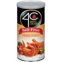 4C 4C Bread Crumbs - Seasoned Salt Free, 12 Ounce