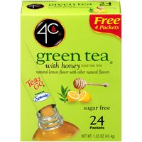 with Honey & Natural Lemon. Sugar Free. No Sodium. Kosher