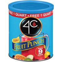 4C Fruit Punch Drink Mix, 18.6 Ounce