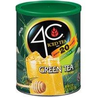 4C Iced Tea Mix - Green, 50.2 Ounce
