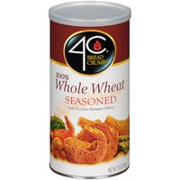 4C 4C Bread Crumbs - 100% Whole Wheat - Seasoned, 13 Ounce