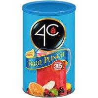 4C Fruit Punch Drink Mix, 35 Quarts, 72.5 Ounce