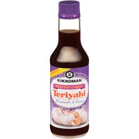 Kikkoman Teriyaki Marinade & Sauce - Roasted Garlic, 10 Fluid ounce