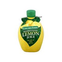 Concord Foods Lemon Juice - Reconstituted, 4.5 Fluid ounce