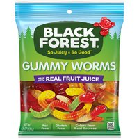 Black Forest Gummy Worms, 4.5 Ounce