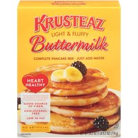 Krusteaz Heart Healthy Buttermilk Complete Pancake Mix, 25.2 Ounce