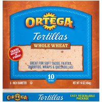 Ortega Whole Wheat Tortillas, 16 Ounce