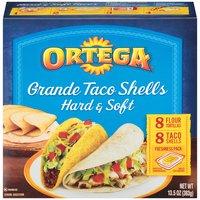 Ortega Ortega Grande Hard & Soft Taco Shells, 13.5 Ounce