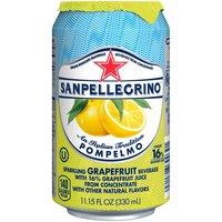 San Pellegrino Pompelmo Single Can, 11.15 Fluid ounce