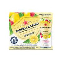 San Pellegrino San Pellegrino Momenti Lemon & Red Raspberry - 6 Ct., 6 Each