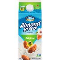 Blue Diamond Almonds Original Almond Milk, 0.5 Gallon