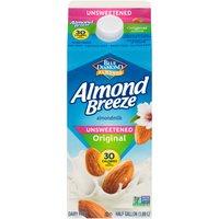 Blue Diamond Almonds Unsweetened Original Almond Milk, 63.91 Fluid ounce