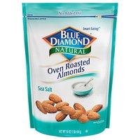 Blue Diamond Almonds Almonds - Oven Roasted Sea Salt, 16 Ounce