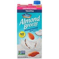 Blue Diamond Almond Breeze Blue Diamond Almond Breeze Unsweetened Coconut Vanilla Almond Milk, 32 Fluid ounce