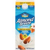 Blue Diamond Almonds Blue Diamond Almonds Honey Vanilla Almond Milk, 63.91 Fluid ounce