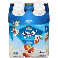 Almondiciously Good!™; Recloseable Cap; Made from Real Almonds; Protects What's Good Tetra Pak®; A Package from Tetra Pak