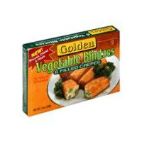 Golden Golden Blintzes - Broccoli Spinach Cheese & Potato, 13 Ounce