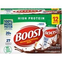 Boost High Protein Nutritional Energy - Rich Chocolate, 96 Fluid ounce