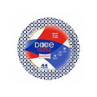 "Dixie Ultra Dixie Ultra Dinner Paper Plates, 10 1/16"", 44 Count, 44 Each"