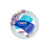 "Dixie Everyday Dixie Everyday Lunch Paper Plates, 8.5"", 90 Count, 90 Each"