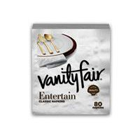 Vanity Fair Vanity Fair Entertain Paper Napkins, 80 Each