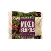 USDA Organic. Contains strawberries, blueberries, and blackberries.