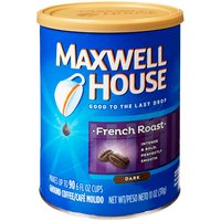 Maxwell House French Roast Ground Coffee, 11 Ounce