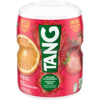 Tang Powdered Soft Drink Mix - Orange Strawberry, 18 Ounce