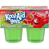 Kool-Aid Gels Strawberry Kiwi Gel Snacks, 14 Ounce