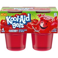 Kool-Aid Gels Cherry Gel Snacks, 14 Ounce